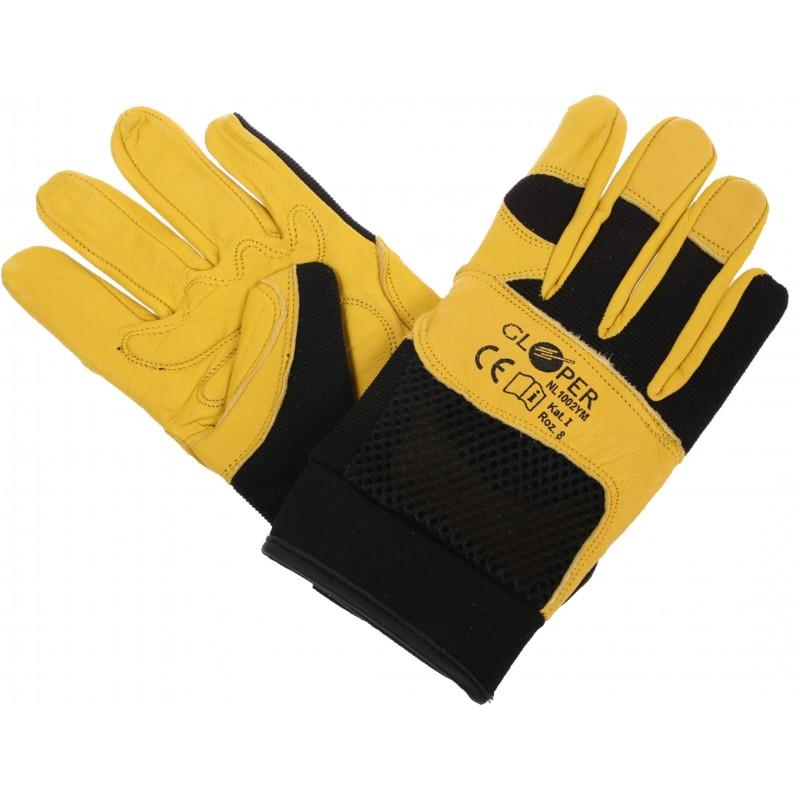 Rękawice skórzane GLOPER NL-1002YM