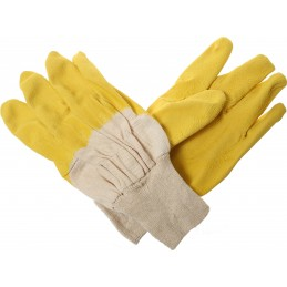 Rękawice ochronne powlekane lateksem R411