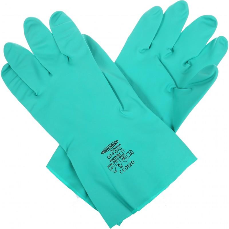 Rękawice chemiczne  SUMMITECH SUMIGREEN PRO. GT-F-07 C