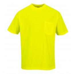 Koszulka z krótkim rękawkiem i z kieszonką S578