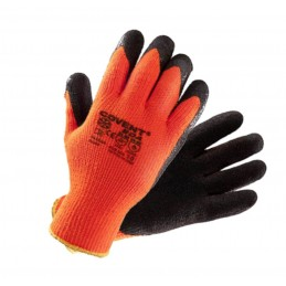 Rękawice ocieplane powlekane lateksem COVENT BOA zimowe