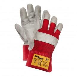 Rękawice ochronne HADDOCK R1 wzmacniane skórą