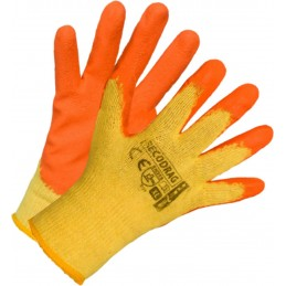 Rękawice ochronne powlekane lateksem RECODRAG