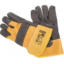 Rękawice ochronne RLCMŻ wzmacniane skórą