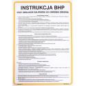 Instrukcja BHP przy obsłudze szlifierek do obsługi drewna