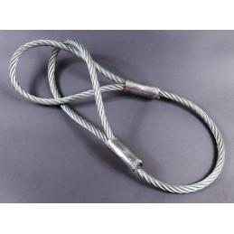 Zawiesie linowe jednocięgnowe typu F DOR/WLL: 1,0/0,8 T