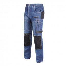 Spodnie robocze do pasa JEANS SLIM FIT