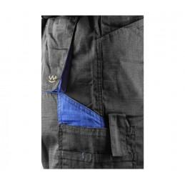 Spodnie robocze ogrodniczki ostrzegawcze FLASH