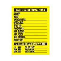 copy of Budowlana tablica...