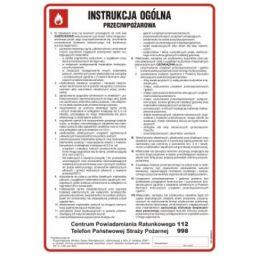 copy of Ogólna instrukcja PPOŻ