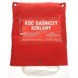 Koc gaśniczy szklany typ: ECST 200-150
