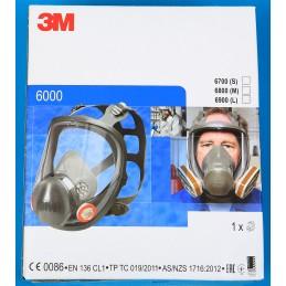 Maska pełna wielokrotnego użytku - seria 6000