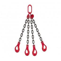 Zawiesie łańcuchowe czterocięgnowe ( średnica łańucha 6 mm )