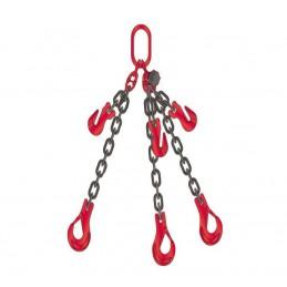 Zawiesie łańcuchowe trzycięgnowe ( średnica łańucha 6 mm )