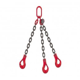 Zawiesie łańcuchowe trzycięgnowe ( średnica łańucha 8 mm )