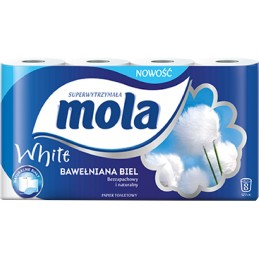 Papier toaletowy Mola opk. 8 rolek