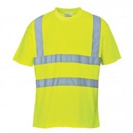 Koszulka odblaskowa z krótkim rękawkiem