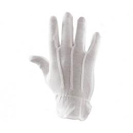 Rękawice ochronne bawełniane PLS MINI nakrapiane PCV