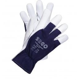 Rękawice ochronne S2GO wzmacniane skórą