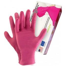 Rękawice diagnostyczne nitrylowe bezpudrowe ALLOGENA