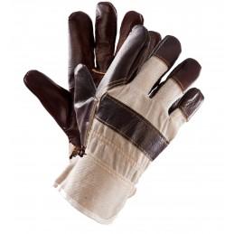 Rękawice ochronne PLS-1 LUX wzmacniane skórą