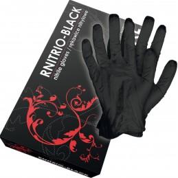Rękawice nitrylowe bezpudrowe RNITRIO-BLACK