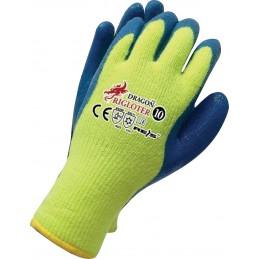 Rękawice ocieplane RIGLOTER nitrylowe